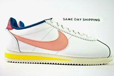 $ CDN96.78 • Buy Nike Classic Cortez Leather (Womens Size 8.5) Shoes 807471 114 Coral Stardust