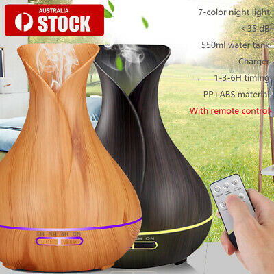 AU21.82 • Buy Essential Oil Humidifier Ultrasonic Air Diffuser Aroma Aromatherapy Air Purifier