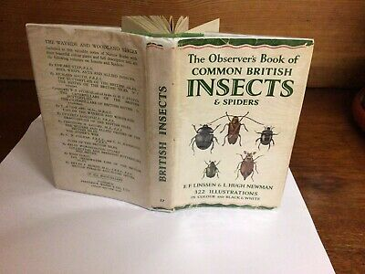 £9.99 • Buy Observers Book Of Common British Insects 2nd Ed 1953