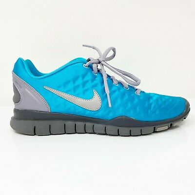 $ CDN66.23 • Buy Nike Womens Free TR Fit 469767-400 Blue Gray Running Shoes Lace Up Size 8.5