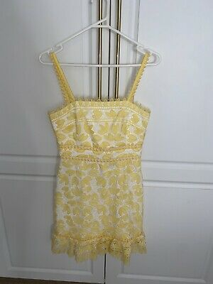 AU15 • Buy Yellow Forever New Dress Size 8