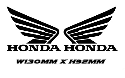 £4.49 • Buy 2 X Custom Honda Wing Sticker Decal Bike Free P&p *special Offer Only £4.49 L@@k