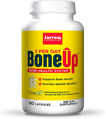 £32.36 • Buy Jarrow Formulas Bone-Up Three Per Day - 180 Caps, 180 Capsules