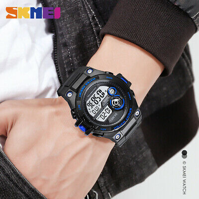 $ CDN13.93 • Buy SKMEI 100M Waterproof Men's Sport Watch LED Digital Electronic Wristwatch 1759