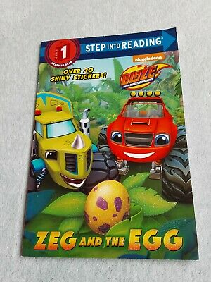 £3.25 • Buy Step Into Reading Book Step 1  Zeg And The Egg  Blaze And The Monster Machines