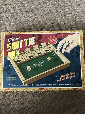 £3 • Buy Shut The Box Game Bn