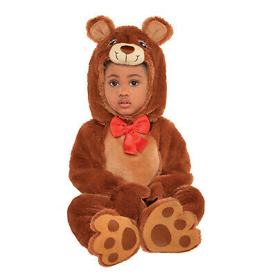 £12.99 • Buy Baby Cuddle Bear Costume Toddlers Fancy Dress Animal World Book Day Brown Teddy