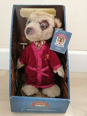 £10 • Buy Yakov's Toy Shop Aleksandr Meerkat Soft Toy  - Compare The Market - New In Box.