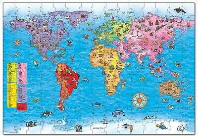 £11.50 • Buy Orchard Toys World Map Jigsaw Puzzle And Poster (280)