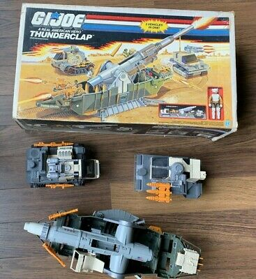 $ CDN42.35 • Buy Vintage GI Joe THUNDERCLAP W/ LONG RANGE Near Complete With Box