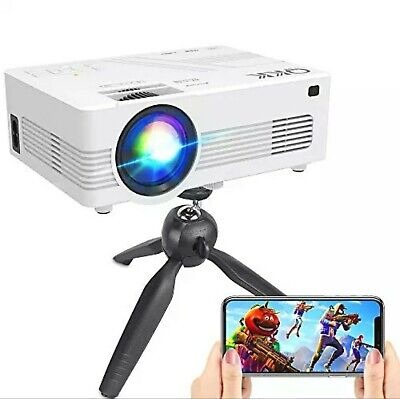 $ CDN145.75 • Buy WiFi Projector Upgraded 5500Lumens Projector Full HD 1080P Supported Mini Pro...