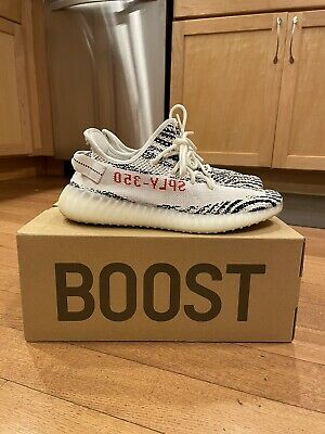 $ CDN417.37 • Buy Adidas Yeezy Boost 350 V2 Zebra - Size 9.5 - Lightly Used - Ships Same-Day