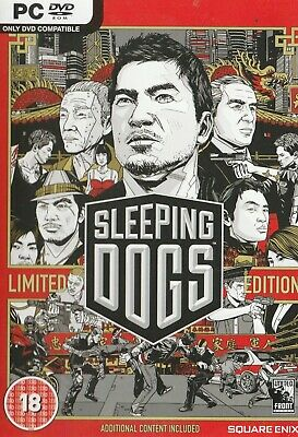 £2 • Buy Pc - Dvd-rom - Sleeping Dogs - Limited Edition