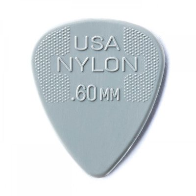 $ CDN3.39 • Buy 3 X Jim Dunlop .60mm Nylon Standard Guitar Picks - 3 Pack Top Quality Plectrums!