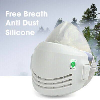 £10.99 • Buy Half Face Chemical Reusable Respirator Anti-Dust Paint Spray Safety+Filters *UK*