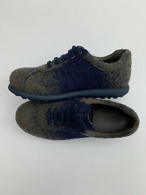 £29.99 • Buy Camper Pelotas Ariel Shoes Size EU35 UK2 Classic Moss Green Navy Felt Limited