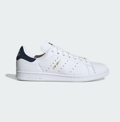 AU63.64 • Buy Adidas Stan Smith Trainers White & Navy With Gold Lettering Size 4 - NEW RRP £75