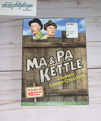$14.99 • Buy Ma And Pa Kettle: Complete Comedy Collection [New DVD] Slipsleeve Pack