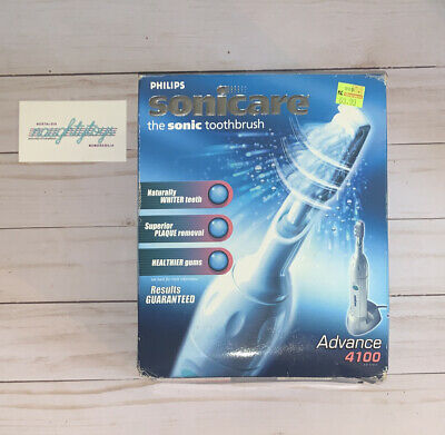 AU77.25 • Buy Philips Sonicare Advance 4100 Electric Toothbrush W/ Charger NEW Open Box