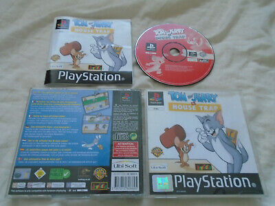 £9.95 • Buy Tom And Jerry In House Trap PS1 (COMPLETE) Cartoon Warner Bros Sony PlayStation