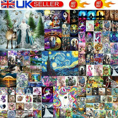 £3.40 • Buy 5D Diamond Painting Embroidery Cross Craft Stitch Pictures Arts Kit Mural UK