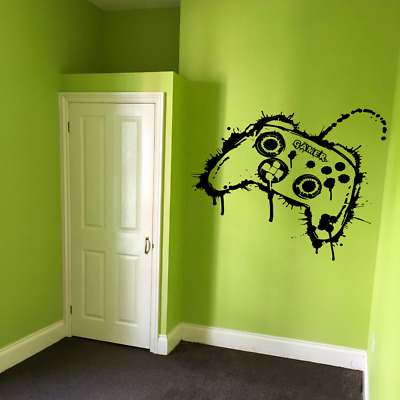 £7.95 • Buy Personalised XBOX Gamer Controller Gaming Boy Kids Wall Sticker Vinyl Decal V831