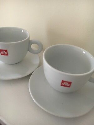 £21.95 • Buy Illy Large Cappuccino Cups 12oz