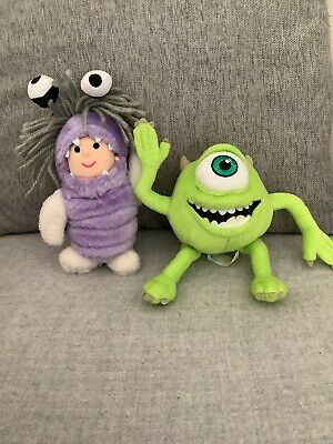 £7.99 • Buy Fairy Promotional Monsters Inc Little Boo And Mike Plush Soft Toys