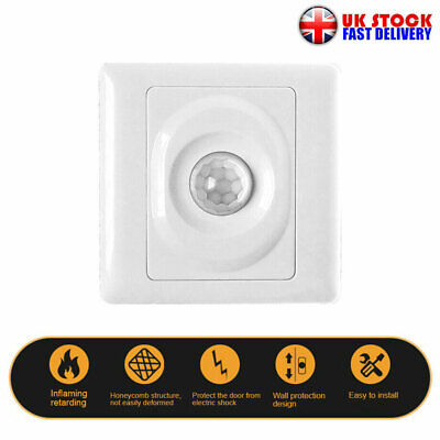 £5.92 • Buy Automatic Infrared PIR Body Motion Sensor Switch Wall-mounted LED Light Switch