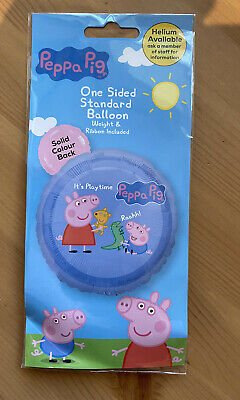 £3.49 • Buy Peppa Pig & George Foil Balloon Birthday Special Event With Weight And Ribbon