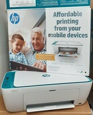 £32 • Buy HP DeskJet 2632 All-in-One Inkjet Printer, Come With Only Colour Ink