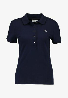 £16.99 • Buy Lacoste Women Slim Fit Navy Polo Shirt Size 42