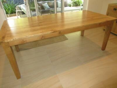 AU699 • Buy Dining Table From Kibu Imports Made From Solid Oak 8 Seater 3yrs Old, 8b
