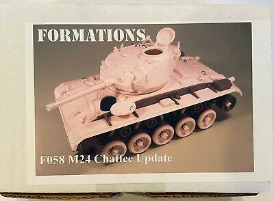$49.99 • Buy Formations M24 Chaffee Resin Detail Set For Italeri Kit - No. F058 - 1/35 Resin