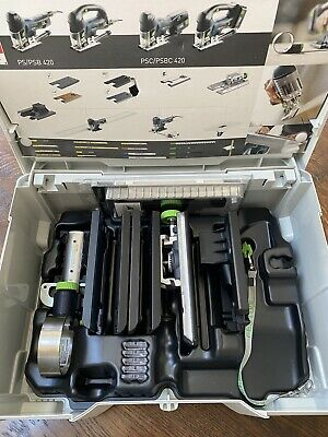£175 • Buy Festool Jigsaw Accesories ZH-SYS-PS420 With Sustainer Box Brand New