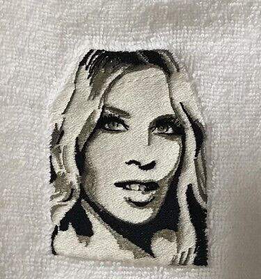 £4.99 • Buy Face Cloth With Embroidered Kylie Minogue Emblem