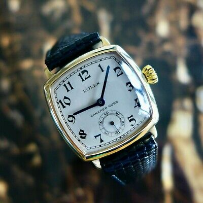 £2550 • Buy  A STUNNING VINTAGE 1936 GENTS ROLEX IN SOLID 9ct GOLD RETAILED BY CAMERER CUSS