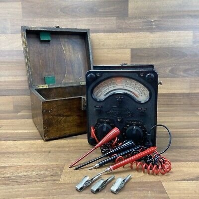 £89.99 • Buy UNTESTED Vintage Universal Avometer Model 8 With Wooden Hard Carry Case