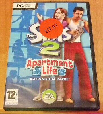 £16.49 • Buy The Sims 2 Apartment Life Expansion Pack (PC 2008) Boxed & Instruction Booklet