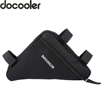 $ CDN10.74 • Buy Docooler Triangle Cycling Bike Bicycle Front Saddle Tube Frame Pouch Bag D7N7