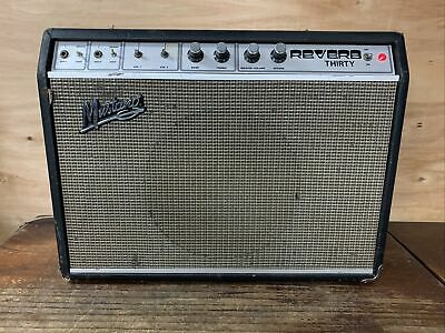 AU375 • Buy Vintage Mustang Reverb Thirty Guitar Amp - Made In NZ- Dimco - Rare