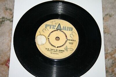 £9.99 • Buy The Maytals 54-46 That's My Number 1968 Uk 7  Vinyl Single Roland Alphonso
