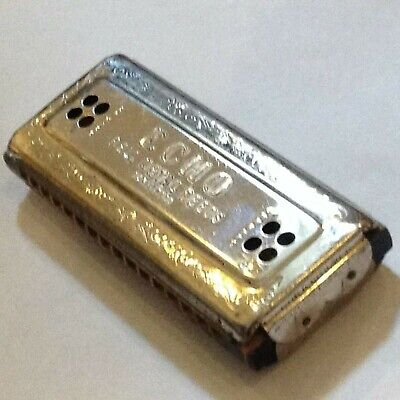 $29.99 • Buy M. Hohner Harmonica, Echo W/Bell Metal Reeds, Made In Germany