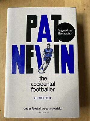 £20.50 • Buy Signed Book The Accidental Footballer By Pat Nevin 1st Edn Hdbk 2021 Chelsea FC