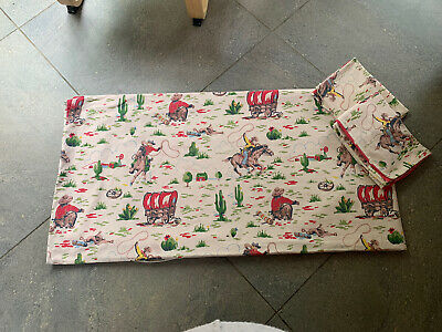 £70 • Buy Cath Kidston Cowboy Western Double Duvet Set Cover And 2 Pillow Cases