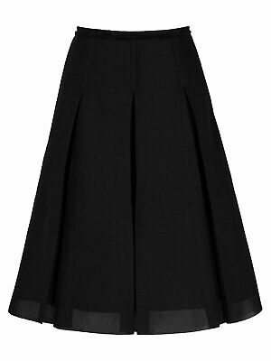 £40 • Buy Reiss Black A Line Pleated Skirt Size 10