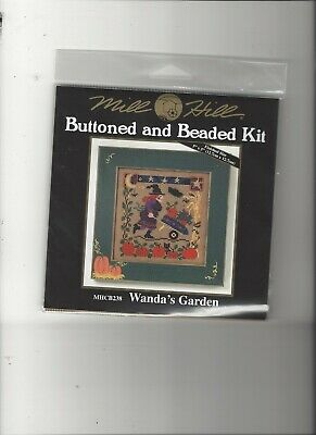 $10 • Buy Mill Hill Buttoned And Beaded Kit - Wanda's Garden (MHCB238)