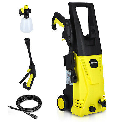 £84.99 • Buy Geepas Pressure Washer Powerful High Performance 3000W Jet Wash For Car Patio