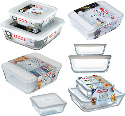 £9.85 • Buy Pyrex Glass Dish Food Storage Baking Serving Dish With Plastic Lid Cook & Freeze
