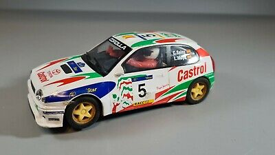 £12 • Buy Hornby Scalextric Toyota Corolla No5 Carlos Sainz - Damaged - See Pictures